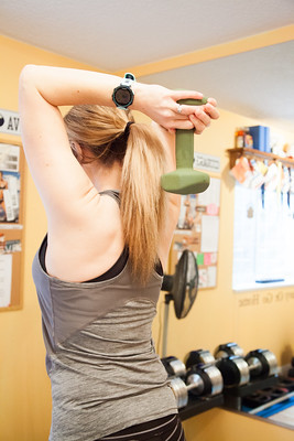 triceps exercises with dumbbells